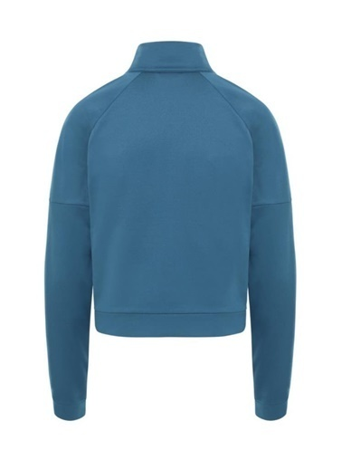 The North Face Active Trail Tam Fermuarlıkadın Sweatshirt Mavi Mavi
